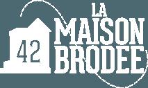 La Maison Brodée : broderie personnalisée, couture, ateliers Logo