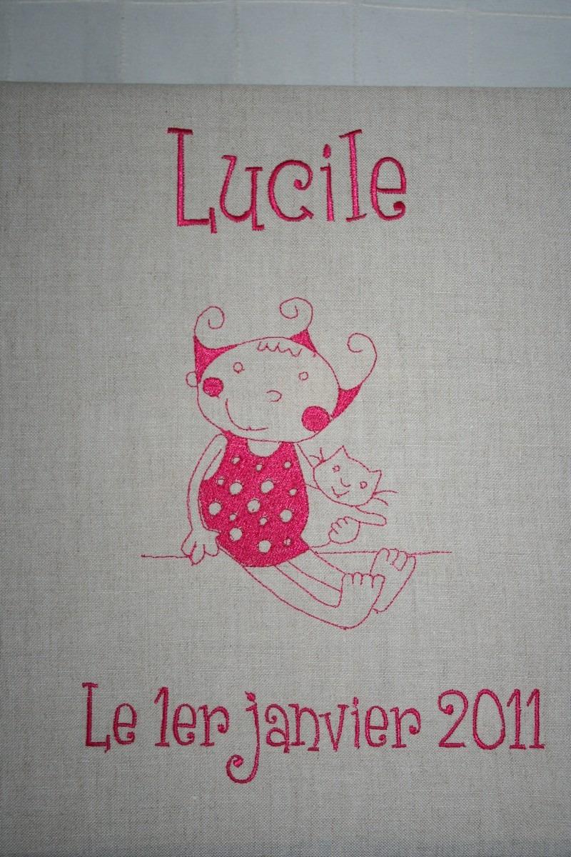 Album photo de Lucile cadeau de naissance