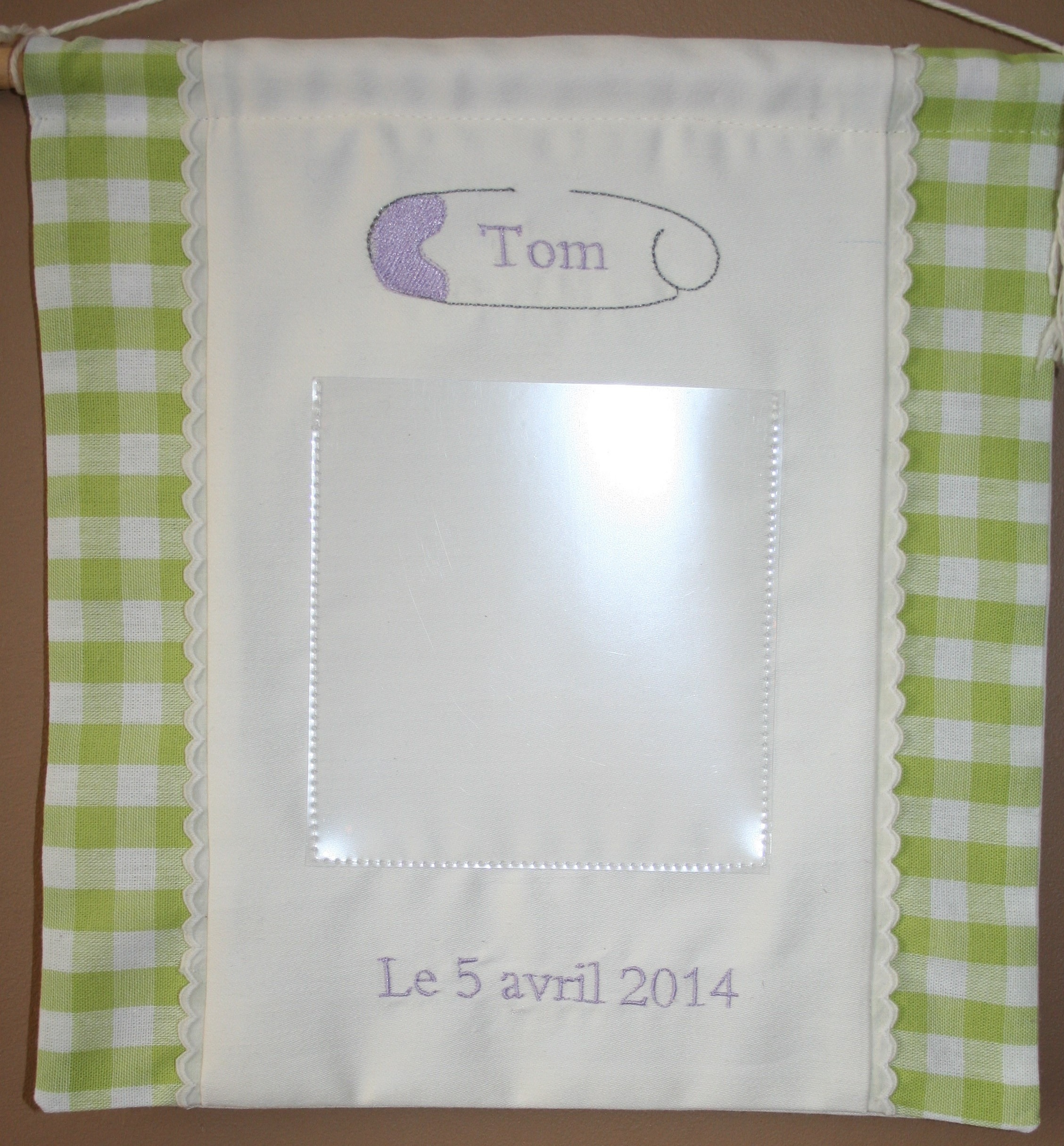 Porte-photo pour le petit Tom